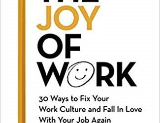"Book Review – ""The Joy of Work – 30 Ways to Fix Your Work Culture and Fall In Love With Your Job Again by Bruce Daisley (Jun19)"